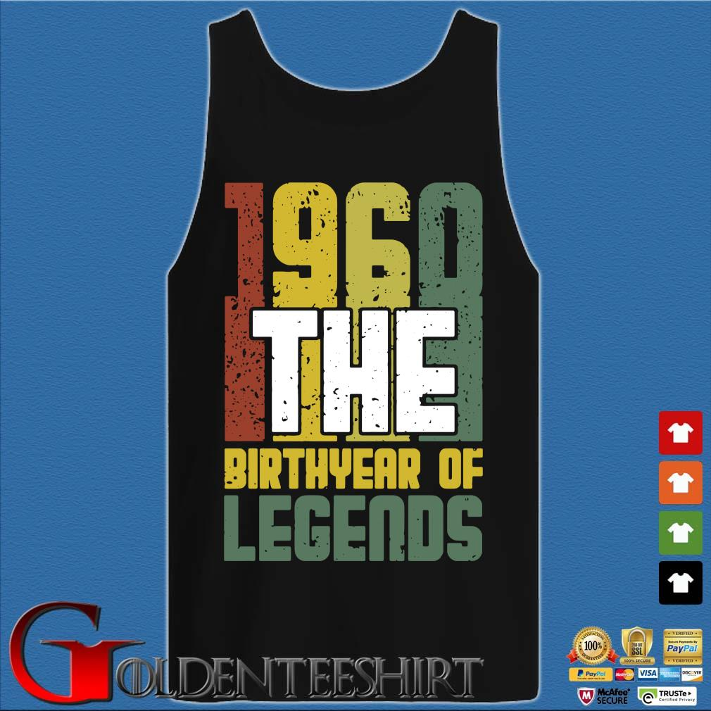1960 the birthyear of legends vintage s Tank top den