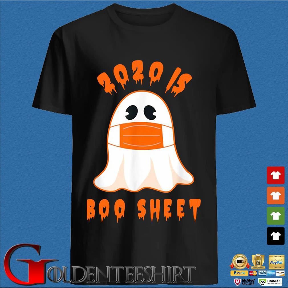 2020 boo sheet Halloween Ghost shirt