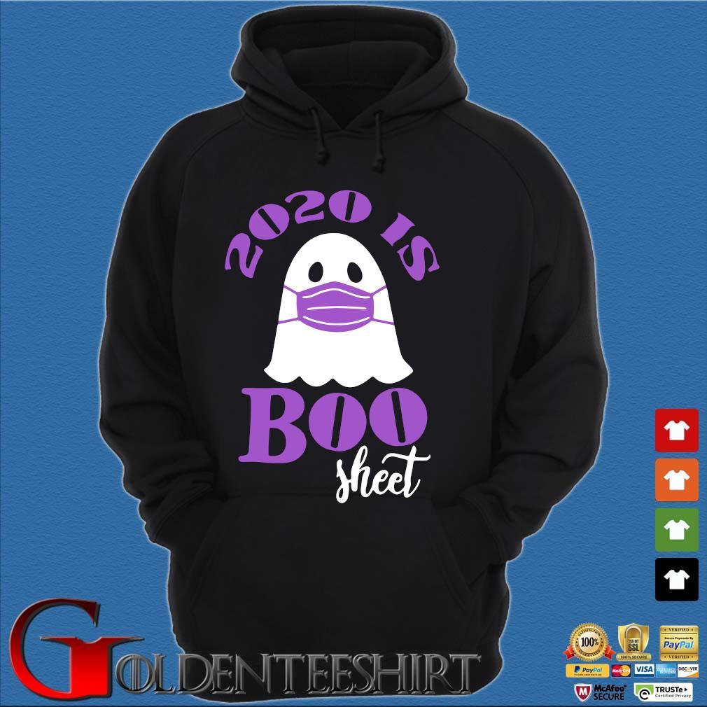 2020 is Boo Sheet Halloween Ghost wear mask 2020 s Hoodie đen