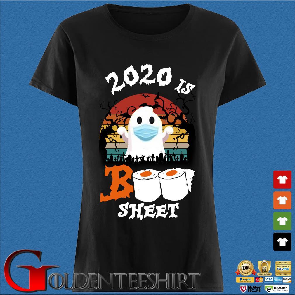 2020 is boo sheet Halloween quarantine vintage s Den Ladies