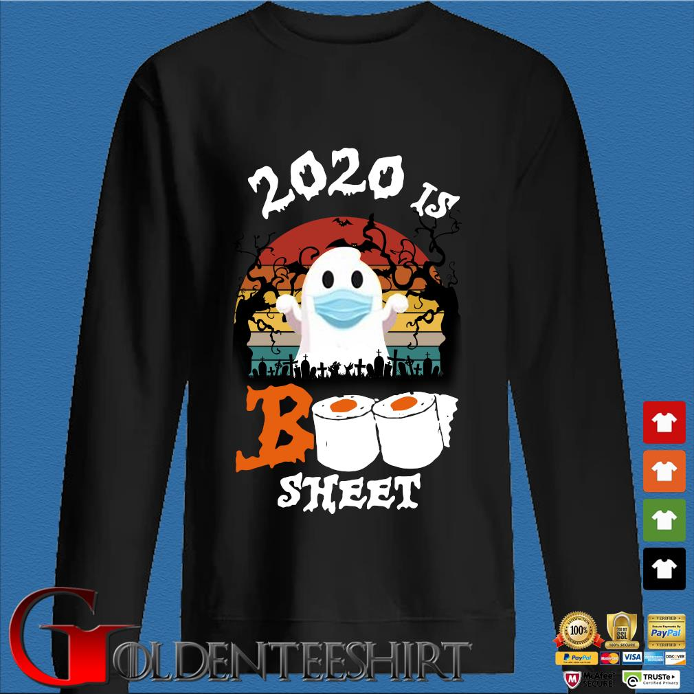 2020 is boo sheet Halloween quarantine vintage s Den Sweater