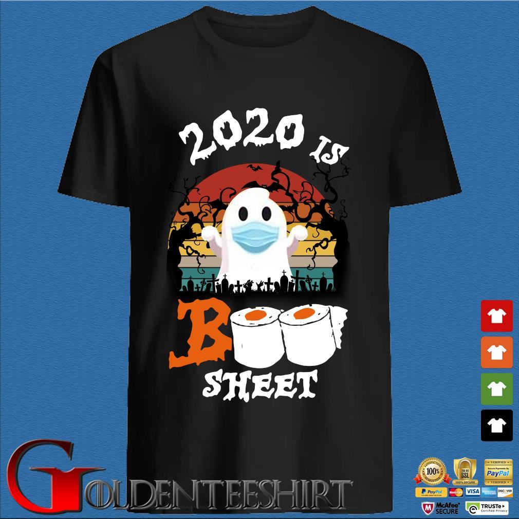 2020 is boo sheet Halloween quarantine vintage shirt