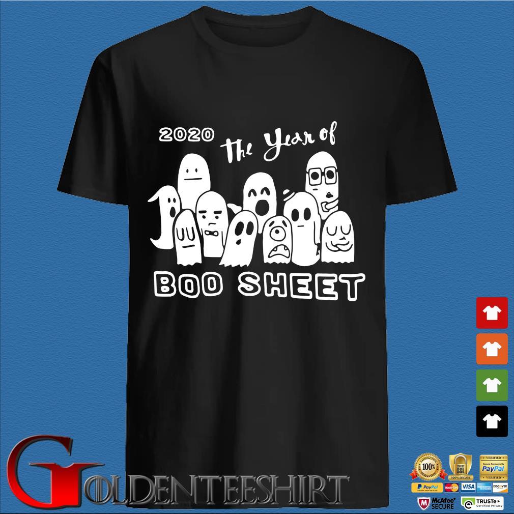2020 the year of boo sheet Halloween shirt