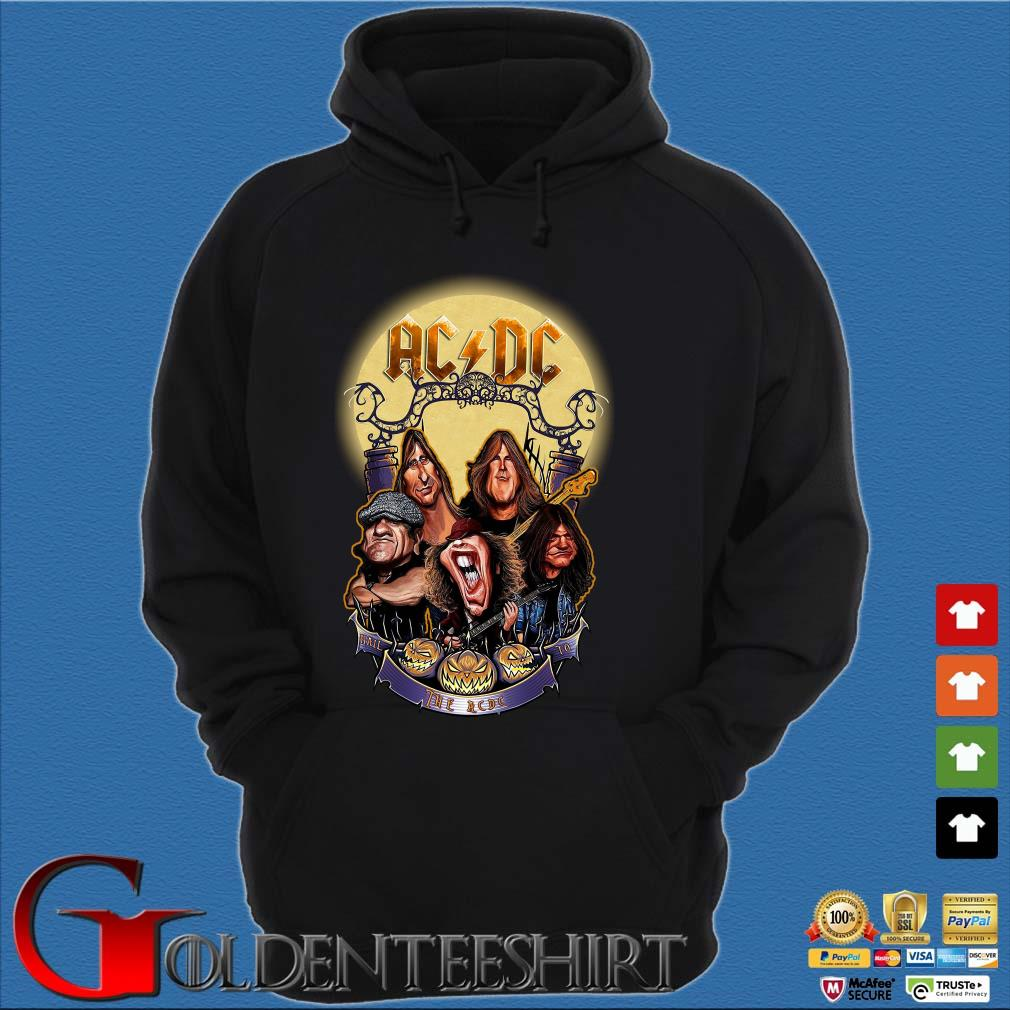 AC DC Heavy Metal Music Band band hail the AC DC to Halloween s Hoodie đen