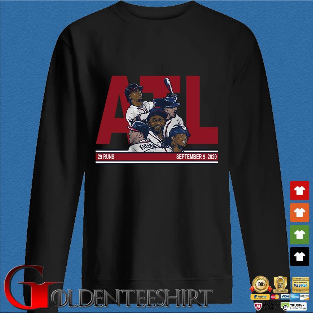 ATL Atlanta baseball 29 runs September 9 2020 s Den Sweater
