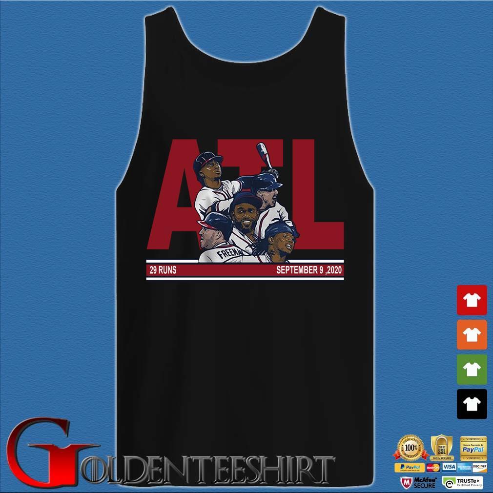 ATL Atlanta baseball 29 runs September 9 2020 s Tank top den