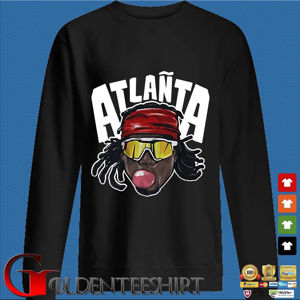 Atlañta Acuña Atlanta baseball s Den Sweater