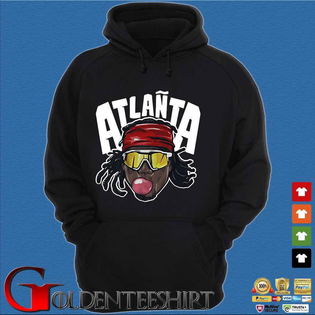 Atlañta Acuña Atlanta baseball s Hoodie đen