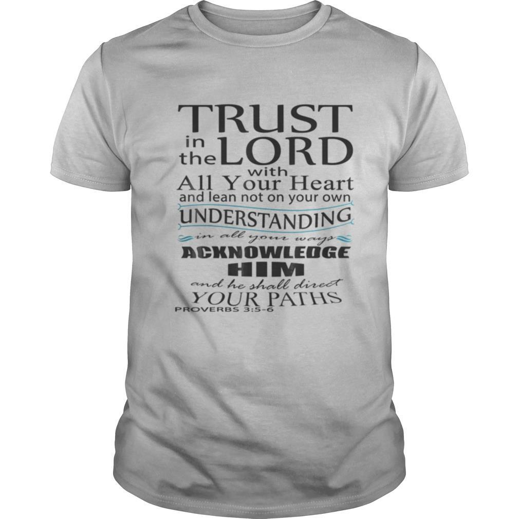 Bible Verse Proverbs 35 6 Quote Of Encouragement shirt