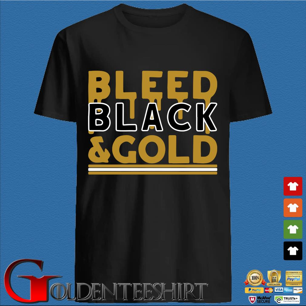 Bleed Black and Gold Pittsburgh Football shirt