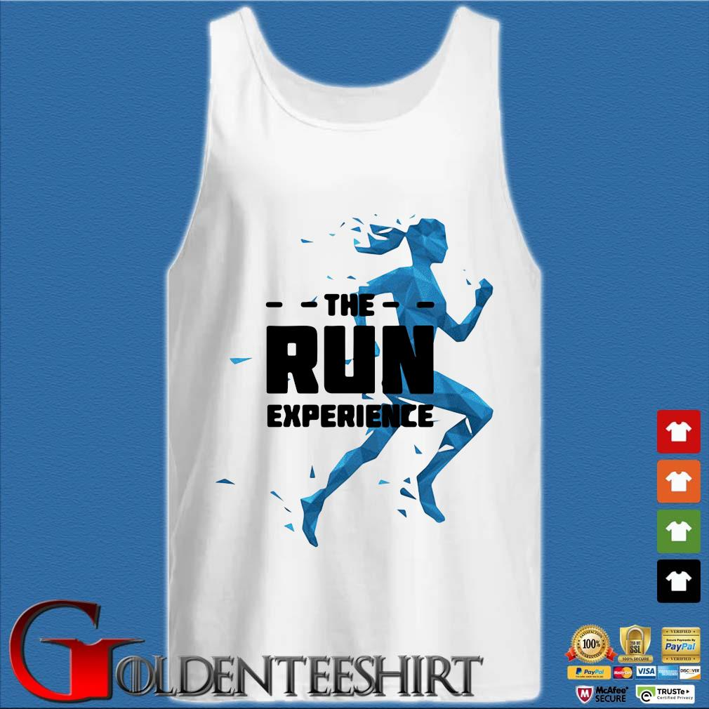 Global running day the run experience s Tank top trắng