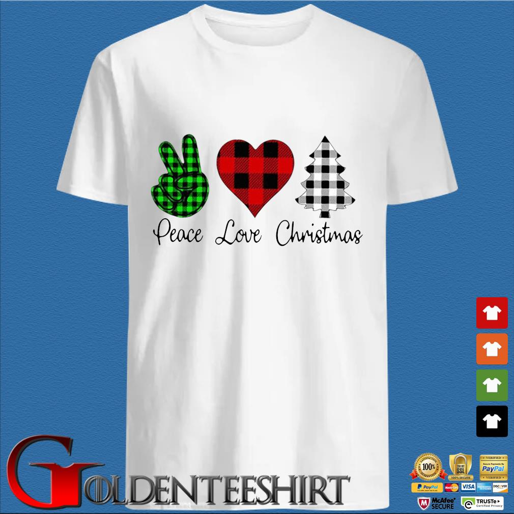Peace love Christmas shirt