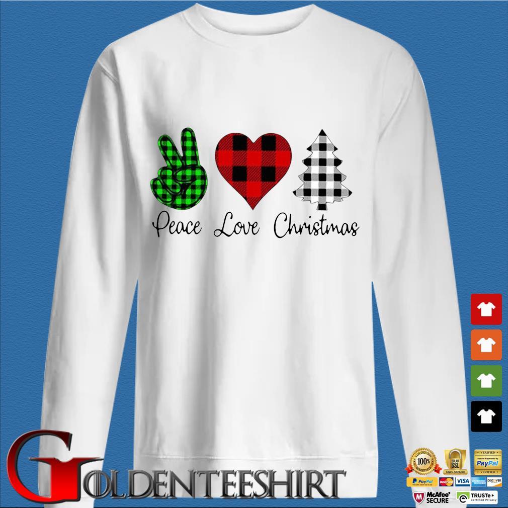 Peace love Christmas s trang Sweater