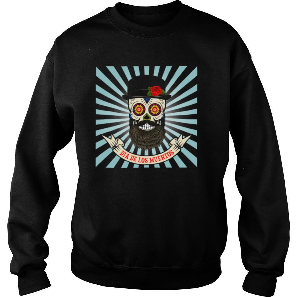 Sugar Skull Man Dia De Los Muertos shirt