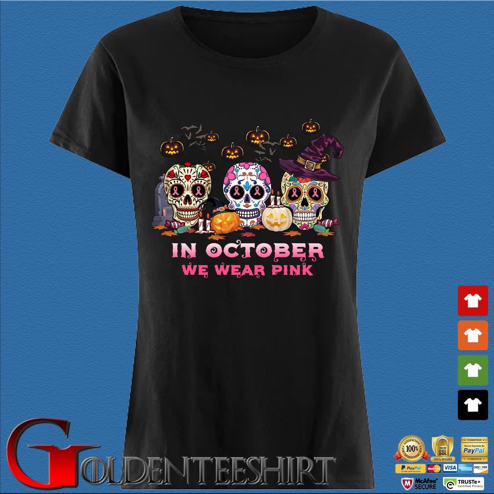 Sugar Skulls tattoo in October we wear pink Halloween s Den Ladies