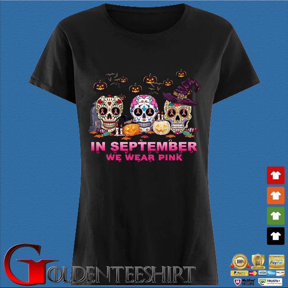 Sugar Skulls tattoo in September we wear pink Halloween s Den Ladies