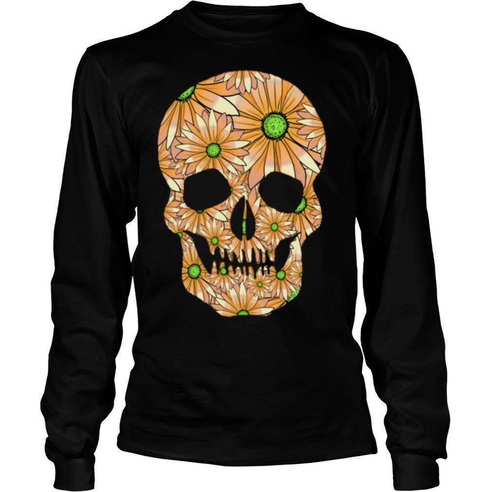 Summer Peach Skull Day Of The Dead shirt