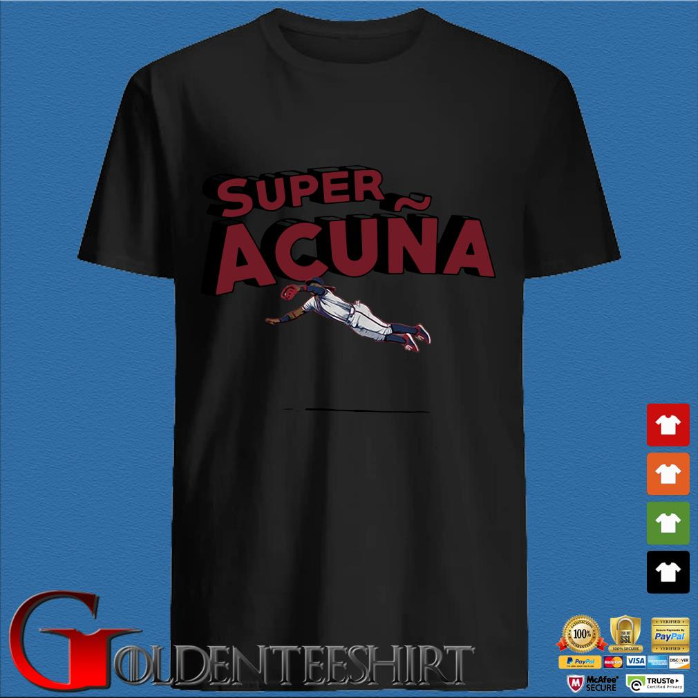 Super Acuna Atlanta baseball shirt