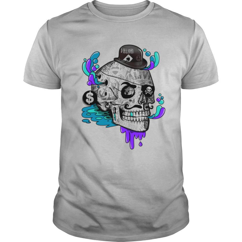 Tattooed Gentleman ALine Sugar Skull Day Of The Dead shirt