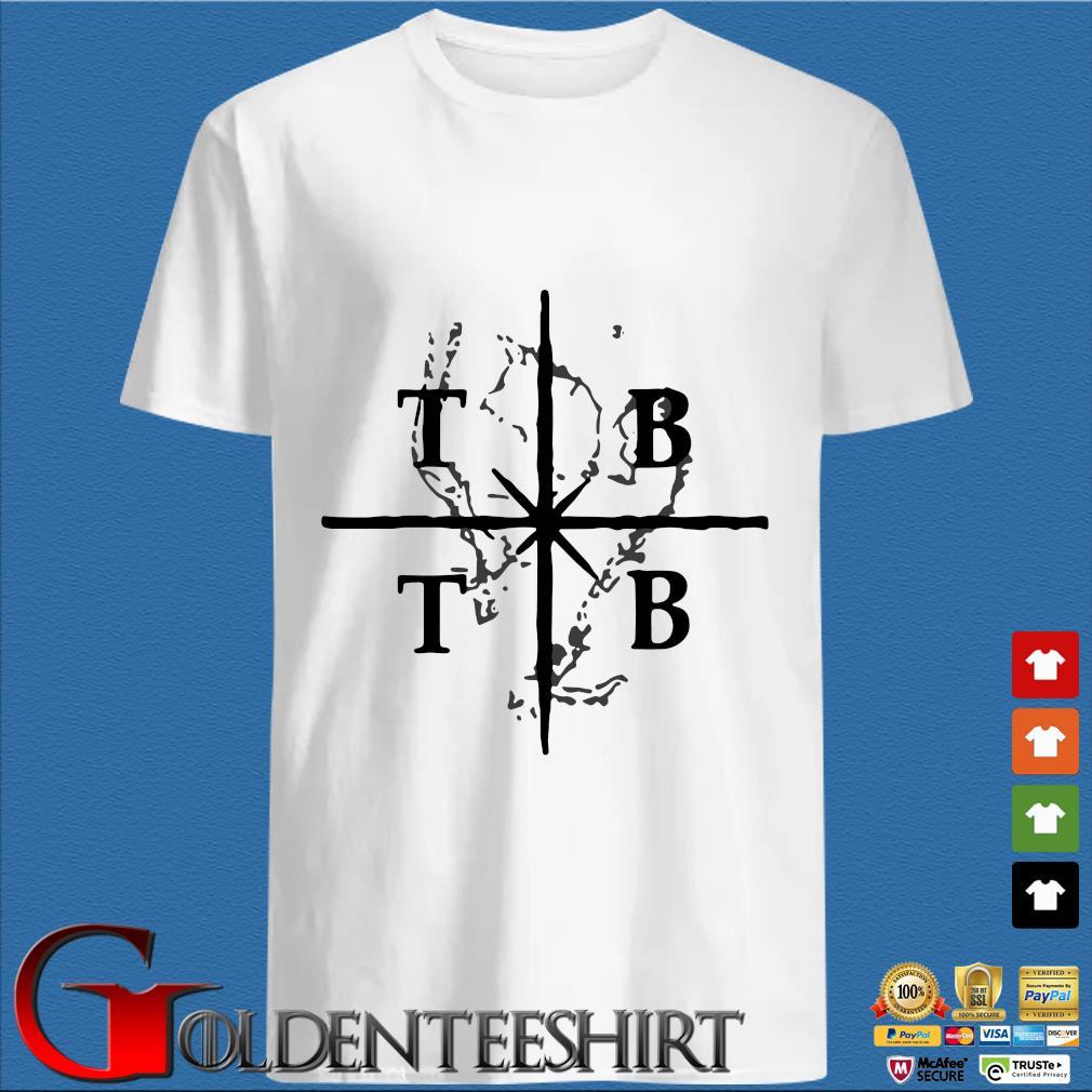TB X TB Tom Brady and Tampa Bay shirt