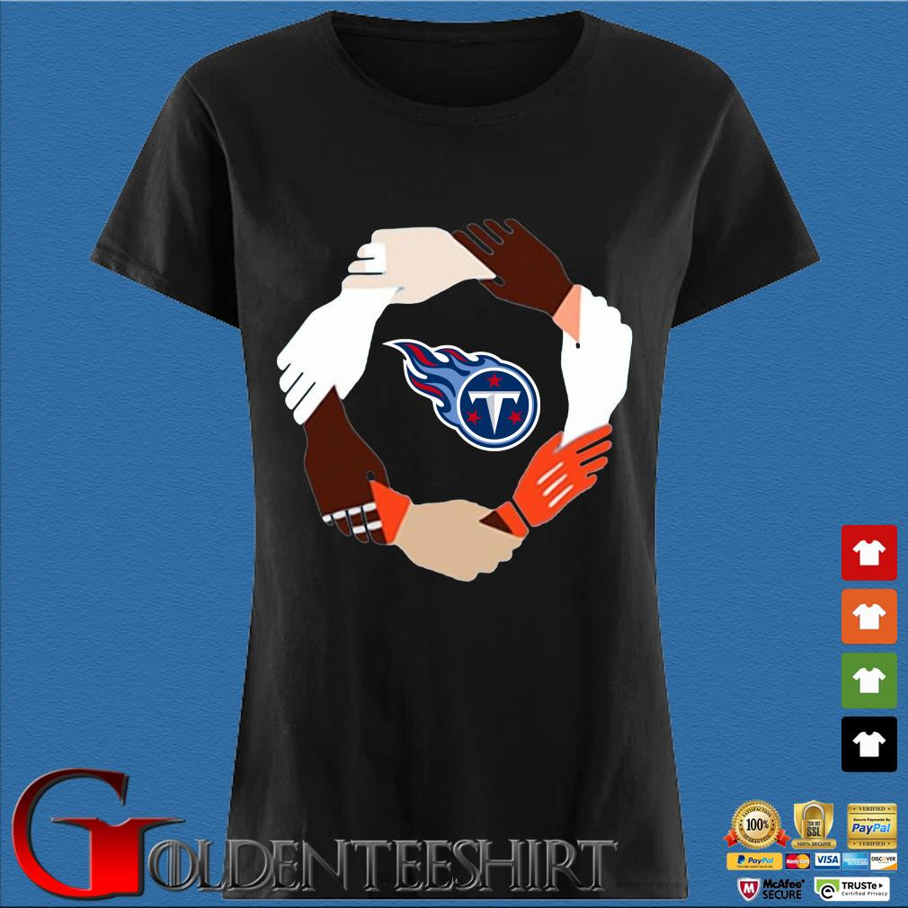 Tennessee titans hand by hand s Den Ladies