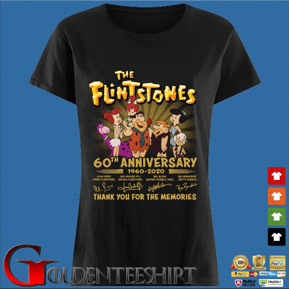 The Flintstones 60th anniversary 1960 2020 signatures thank you for the memories s Den Ladies