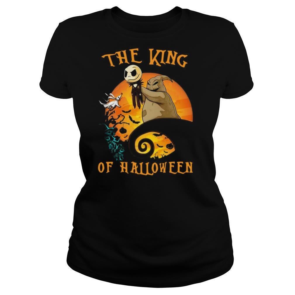 The Raptor King Skellington Halloween shirt