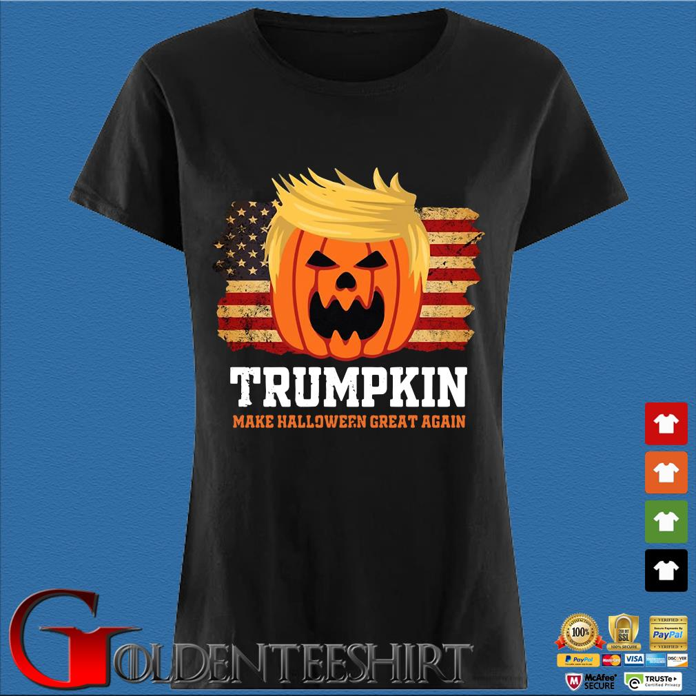 Trumpkin make Halloween great again American flag s Den Ladies