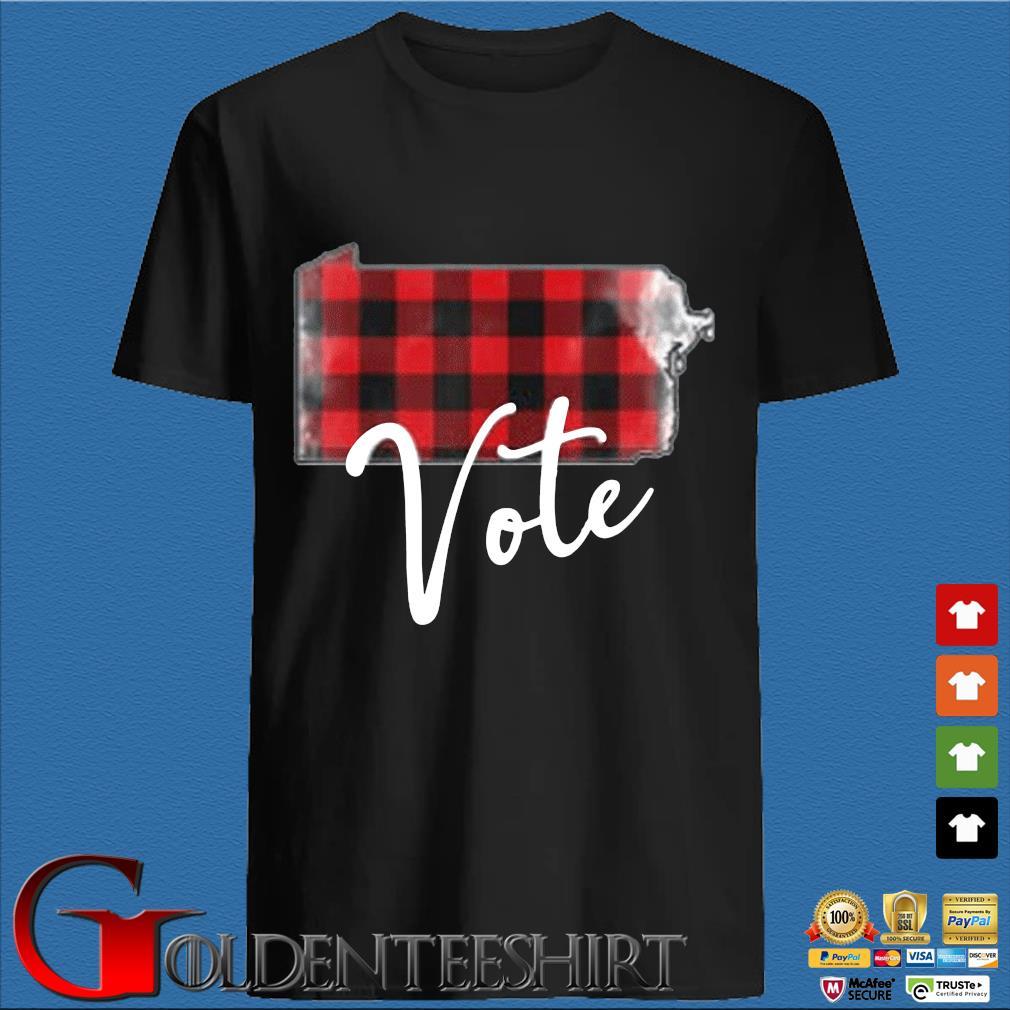 Vote Pennsylvania flag US 2020 shirt