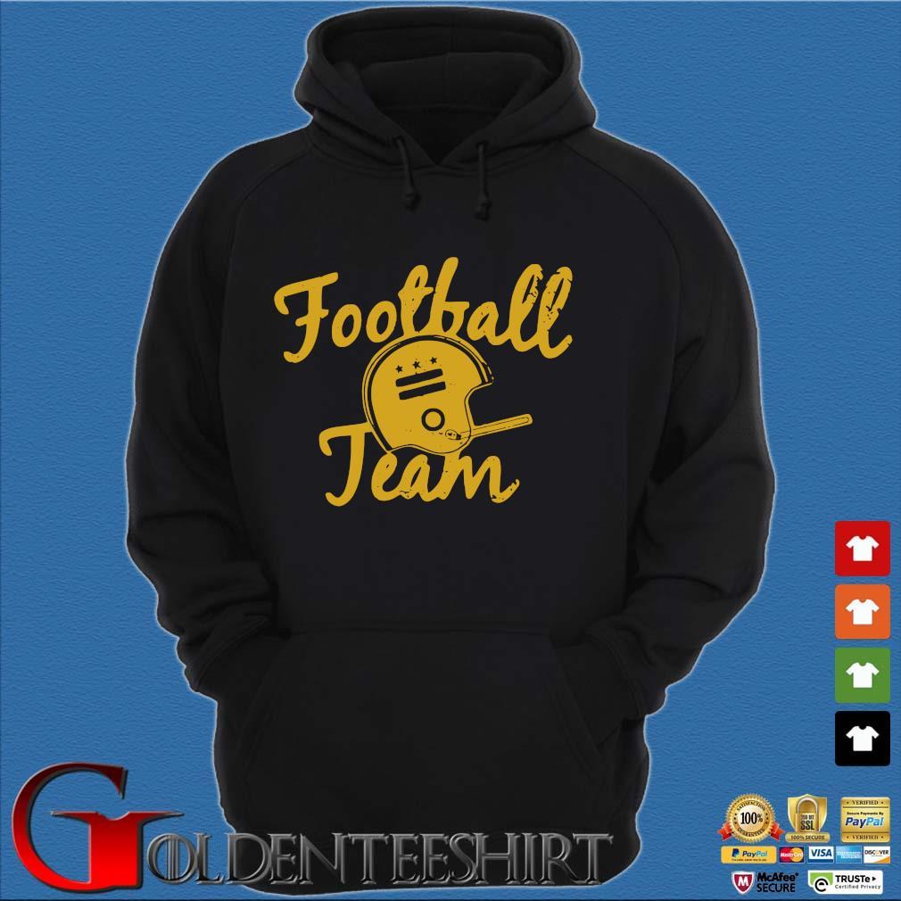 Washington football team s Hoodie đen