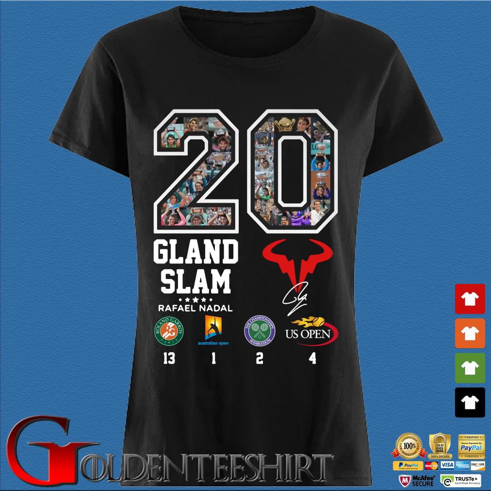 20 Gland Slam Rafael Nadal s Den Ladies