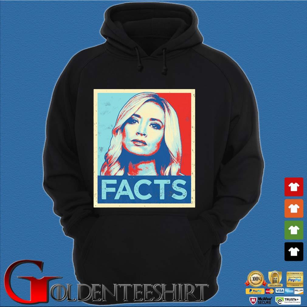 2020 Kayleigh Mcenany Facts Shirt Hoodie đen