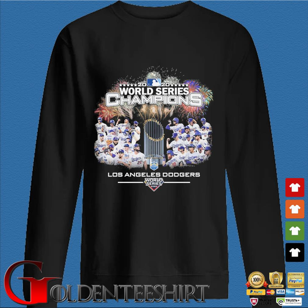 2020 world series Champions Los Angeles Dodgers T-Shirt