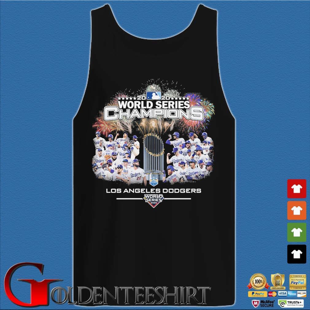 2020 world series Champions Los Angeles Dodgers T-Shirt Tank top den