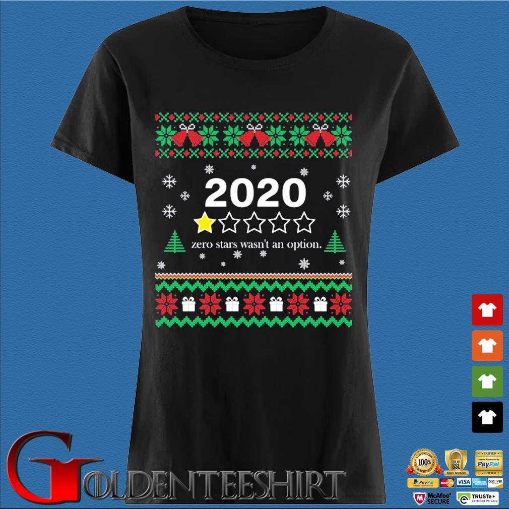 2020 zero stars wasn't an option Christmas sweats Den Ladies