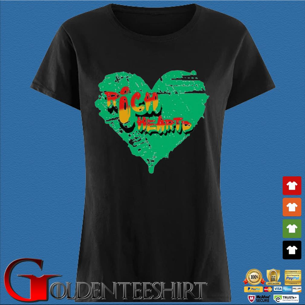316 Richheartd Rich Heartd Tee Shirt Den Ladies