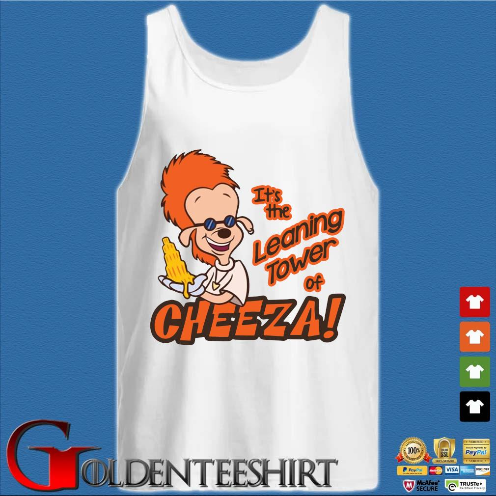 A Goofy Movie It's the leaning tower of Cheeza s Tank top trắng