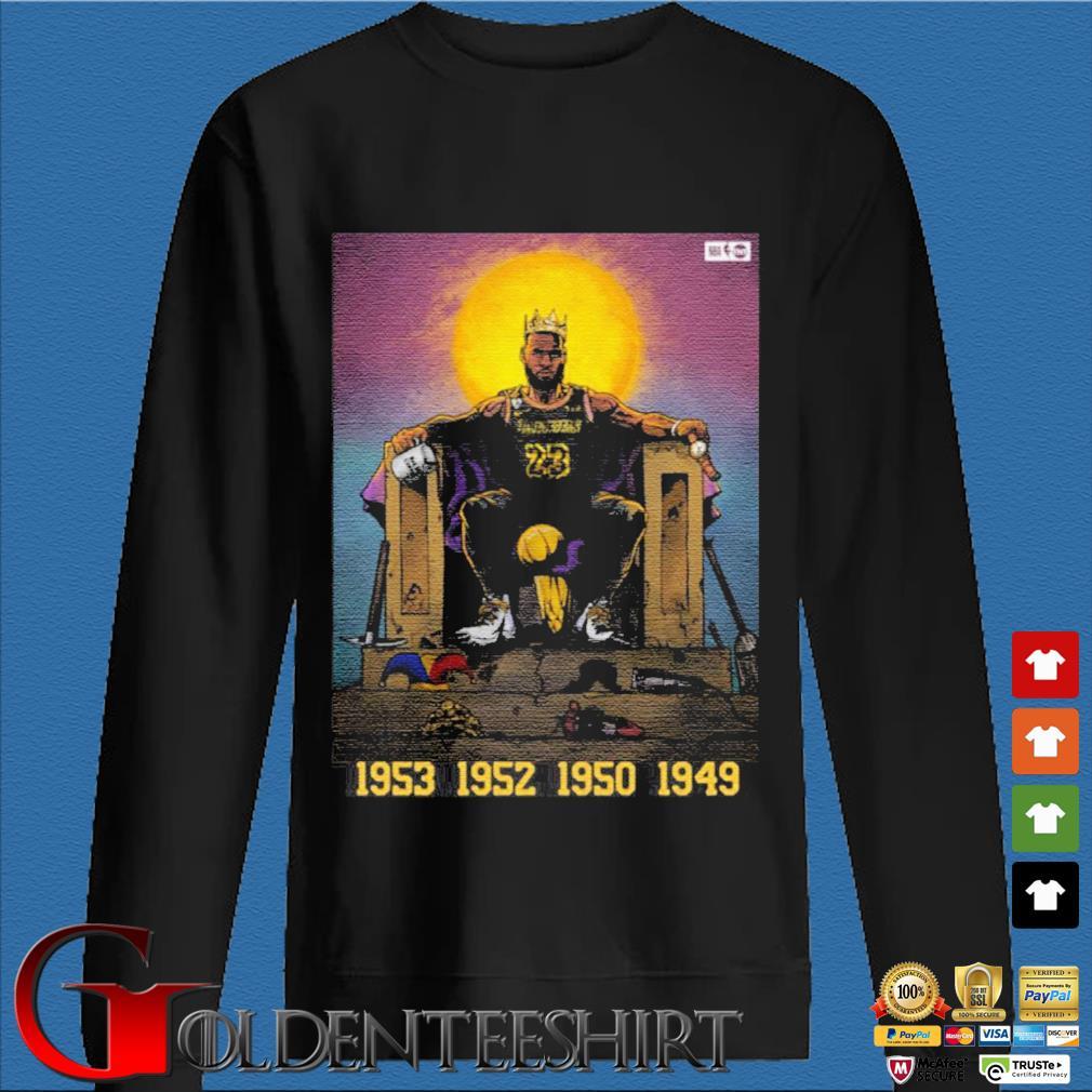 All Hail The King Lebron James Shirt Den Sweater