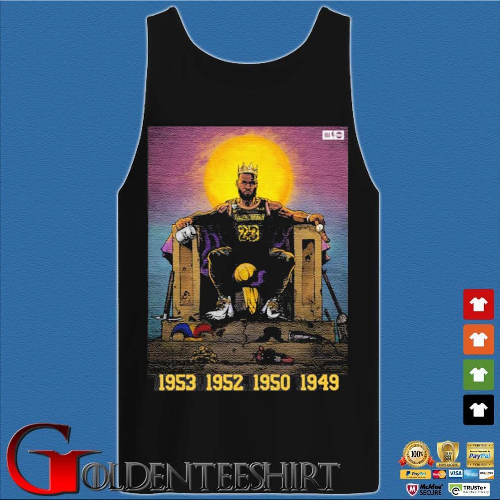 All Hail The King Lebron James Shirt Tank top den