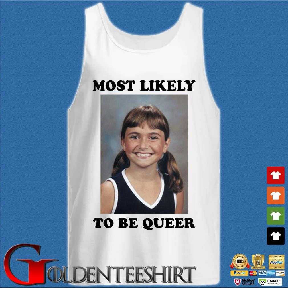 Alyson Stoner most likely to be queer s Tank top trắng