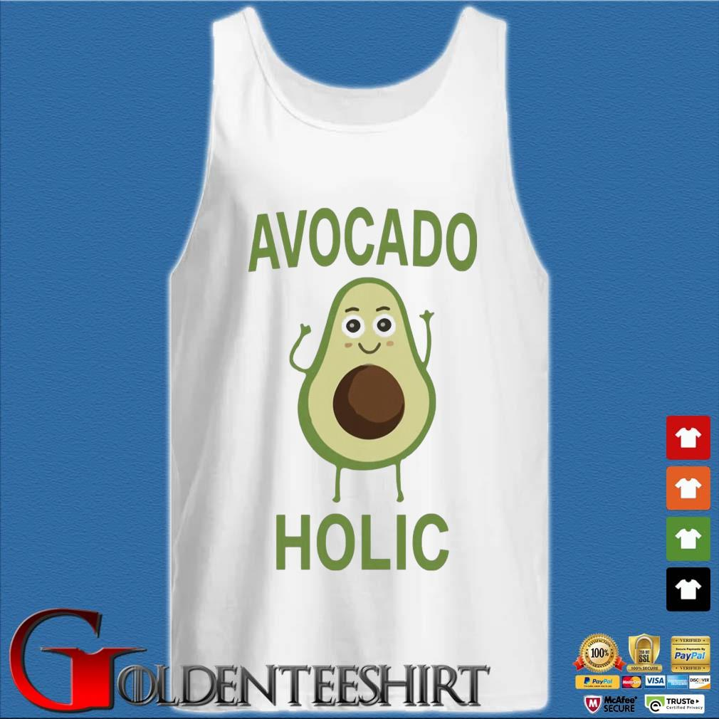Avocado holic s Tank top trắng