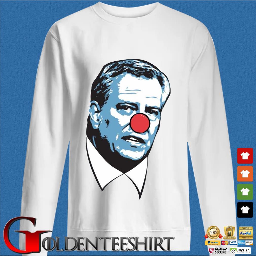 Bill de Blasio Clown Nose Shirt