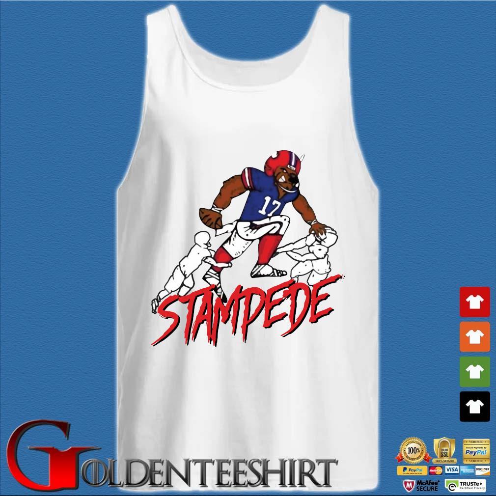 Buffalo Stampede Shirt Tank top trắng