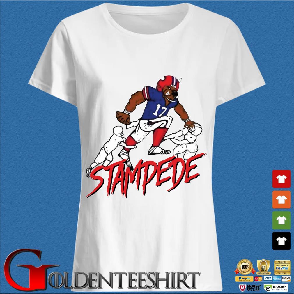 Buffalo Stampede Shirt Trang Ladies