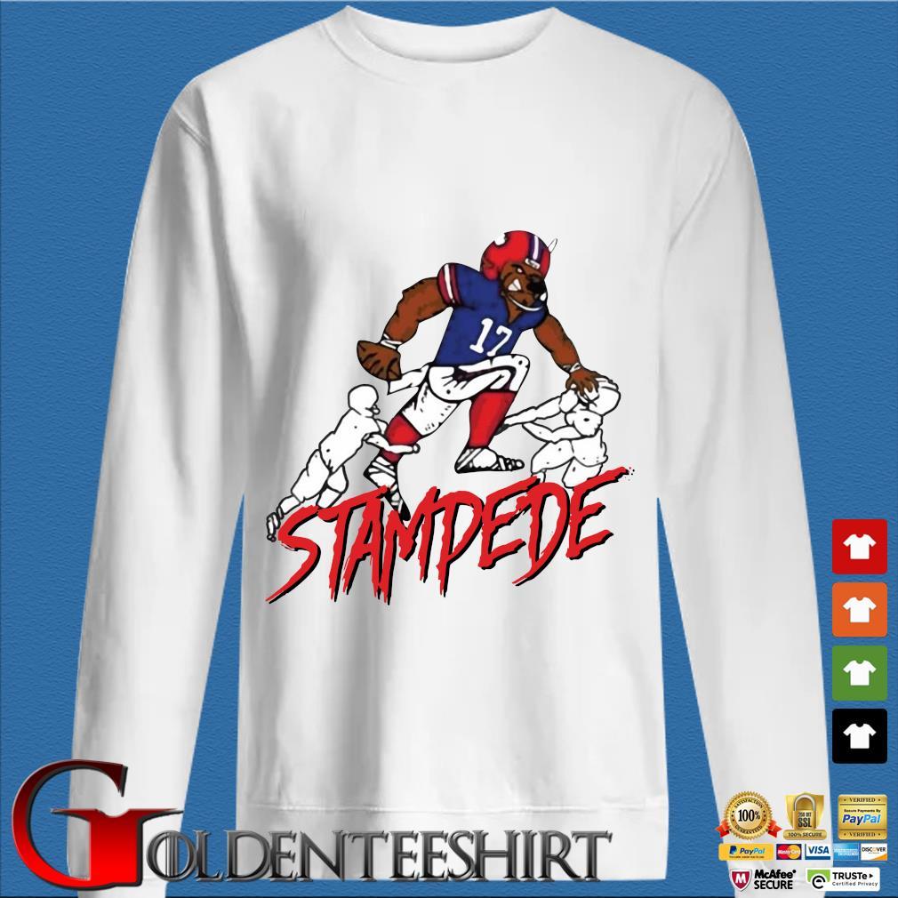 Buffalo Stampede Shirt trang Sweater