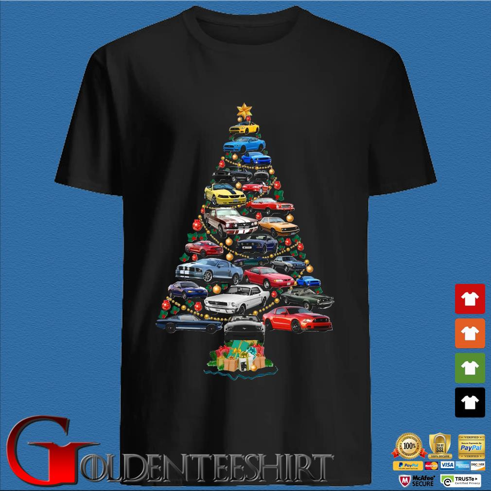 Cars Merry Christmas tree shirt