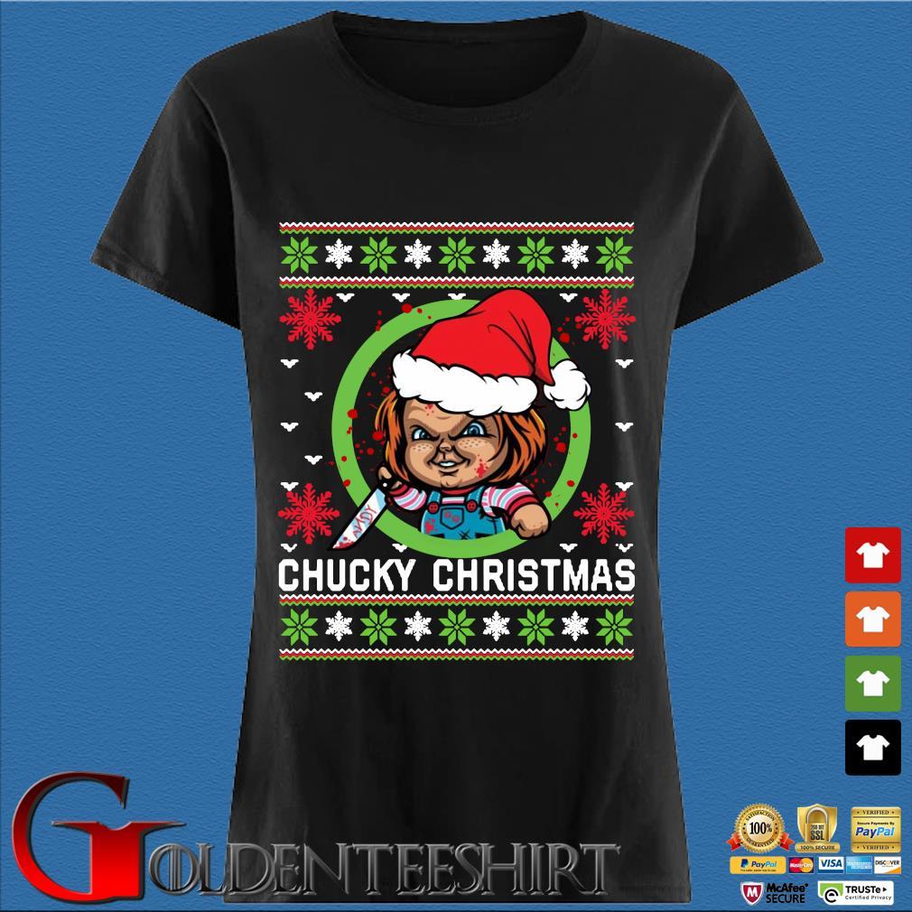 Chucky Christmas sweats Den Ladies