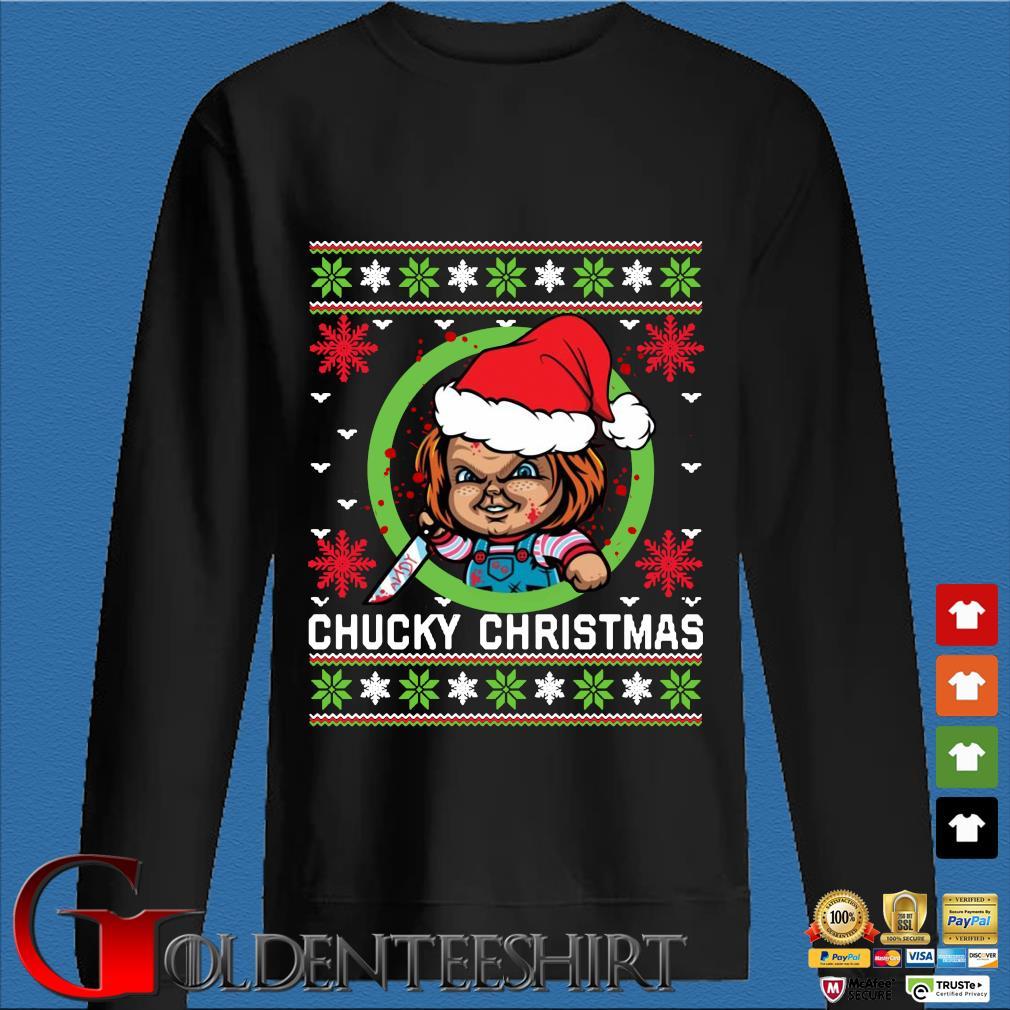 Chucky Christmas sweats Den Sweater