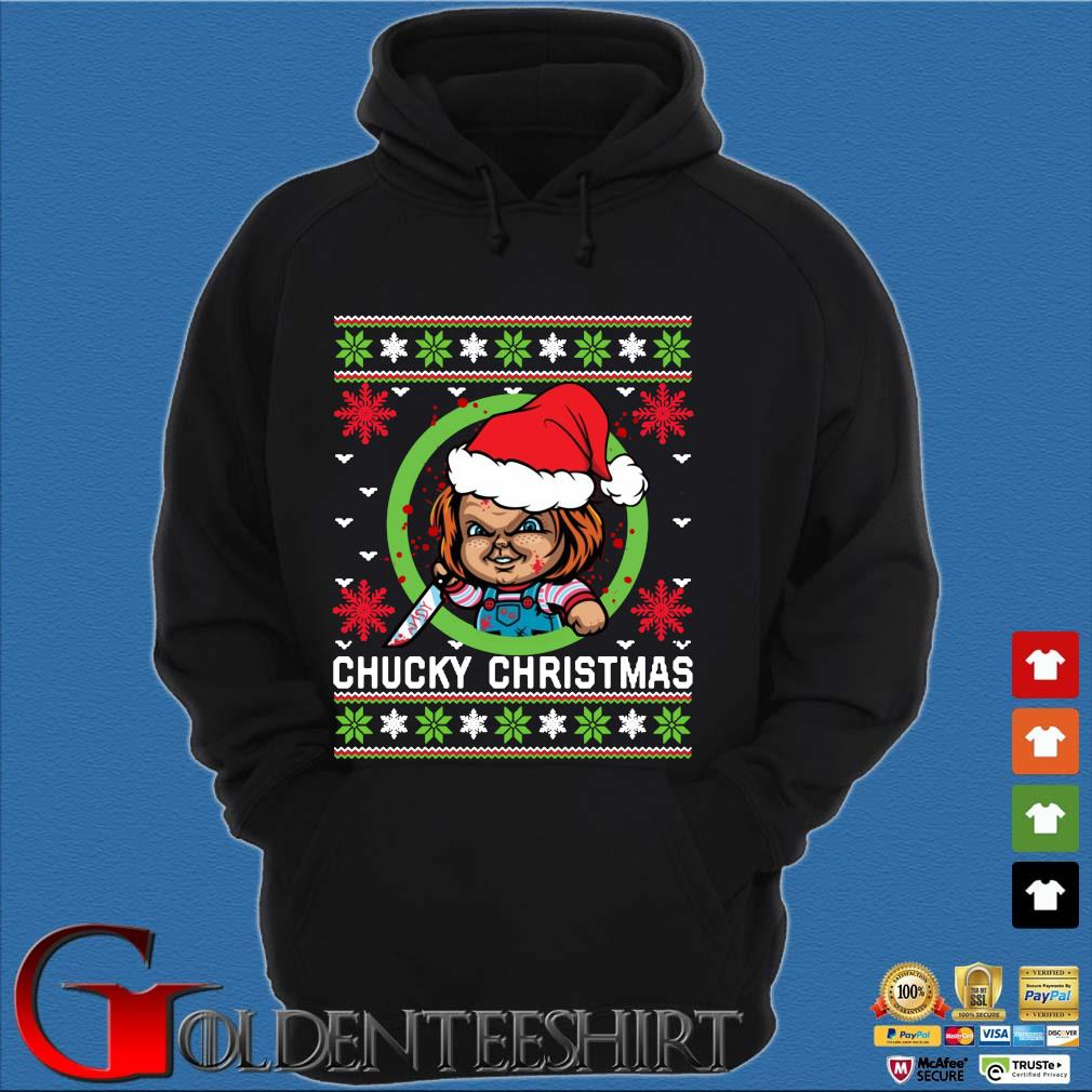 Chucky Christmas sweats Hoodie đen