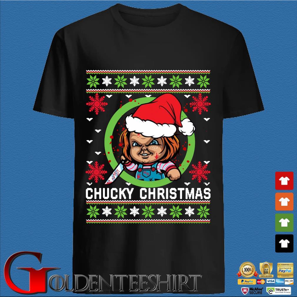 Chucky Christmas sweatshirt